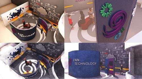 منصّة زين ومصنع الأفكار يدعمان مسابقة تصميم معروضة تفاعلية لمنطقة التكنولوجيا