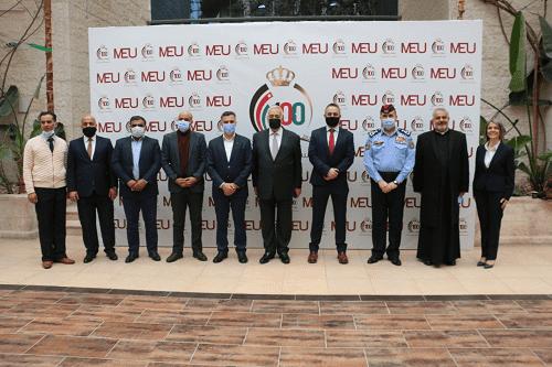 جامعة الشرق الأوسط بمئوية الدولة تستضيفُ الحفلَ الختاميَّ لمشروع الفريق الوطنيِّ لِلسِّلم المُجتمعيِّ