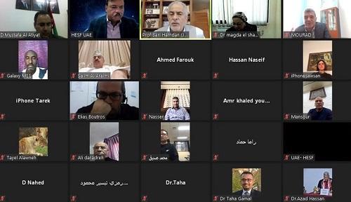 رئيس جامعة عمان الأهلية يحاضر في ندوة الإدارة المتميزة للنشاط الرياضي