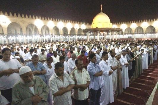 الأوقاف المصرية تعلن شروط صلاة التراويح