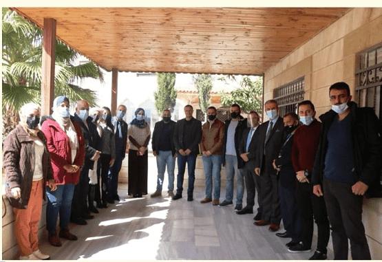 تخريج المشاركين بدورة إدارة الكيماويات بجمعية البيئة الأردنية