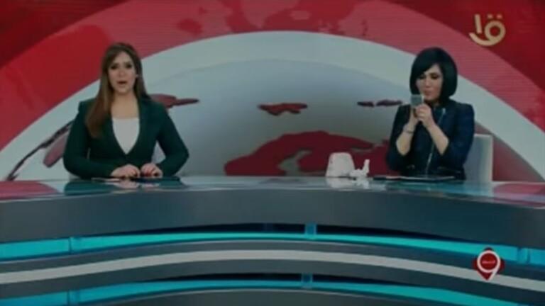 خطأ غريب لمذيعة على التلفزيون المصري خلال نشرة الاخبار - فيديو