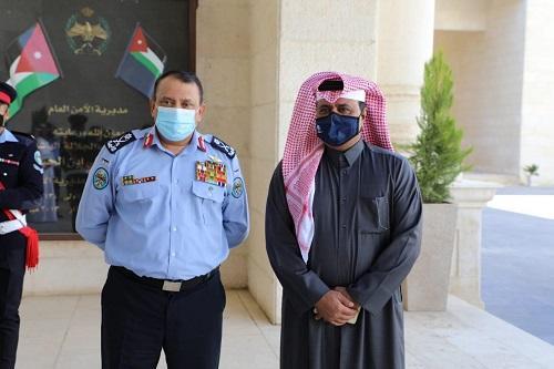 الحواتمة يلتقي رئيس الاتحادين القطري