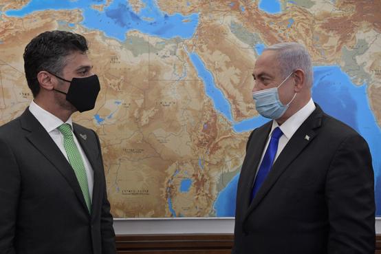 نتنياهو للسفير الاماراتي : نحن نغير الشرق الأوسط والعالم