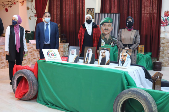 تربية الجامعة تحتفل بمئوية الدولة ويوم عمان