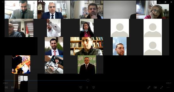 العربية الأمريكية تمنح الباحث أبو عطوان درجة الماجستير