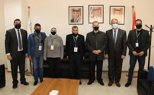 رئيس جامعة عمان العربية يلتقي وفد من جمعية البيئة الأردنية