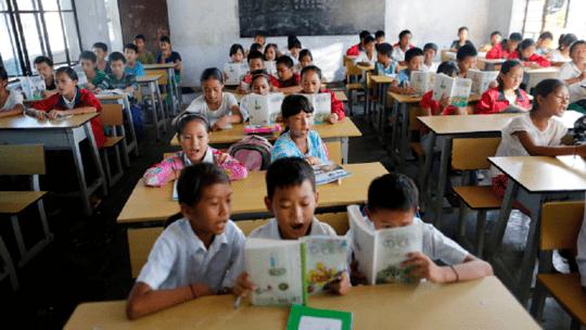 الصين تمنع الضرب في المدارس