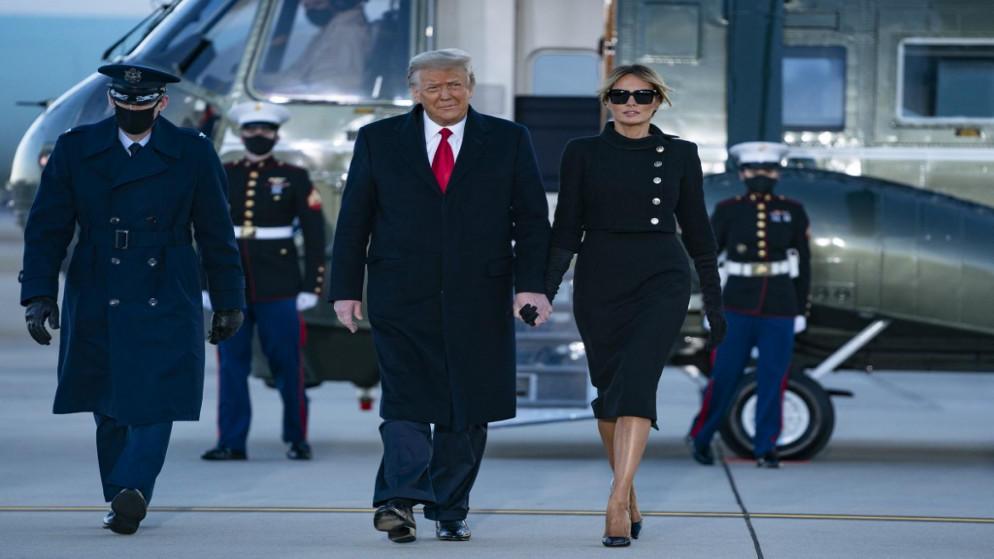 متى أخذ ترامب وزوجته لقاح كورونا؟
