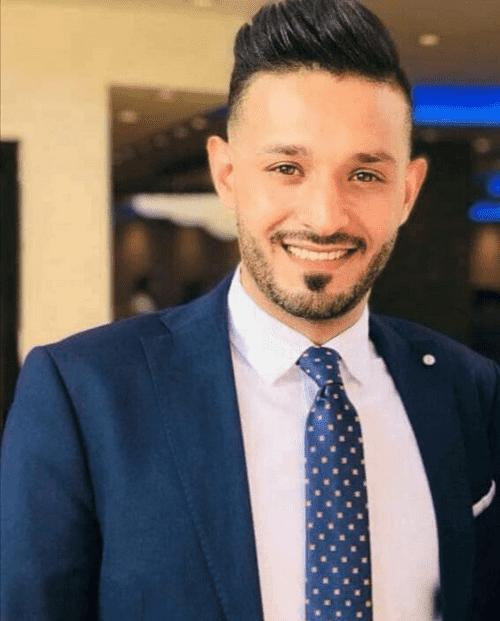 بلال محمد ابوجاموس يدخل عش الزوجية