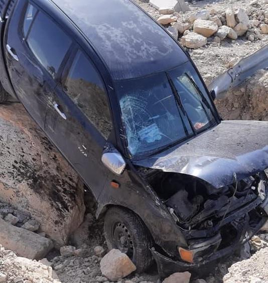 نجاة مدير إقراض زراعي الأغوار من حادث سير
