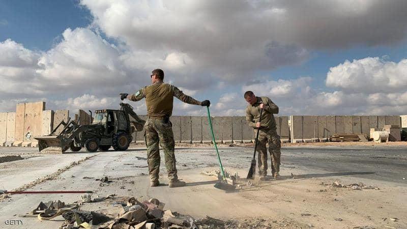 سقوط 10 صواريخ على قاعدة عين الأسد في العراق