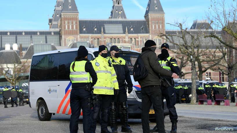 انفجار قرب مركز فحوصات للكشف عن كورونا في هولندا