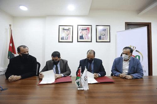 اتفاقية تعاون بين بلدية شيحان بالكرك ووزارة الشباب