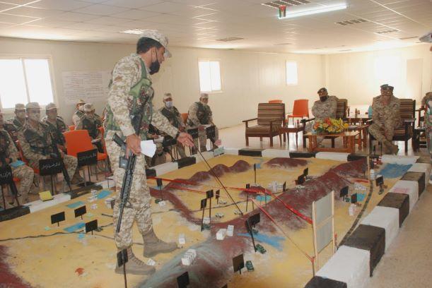 المنطقة العسكرية الجنوبية تنفذ تمريناً تعبوياً