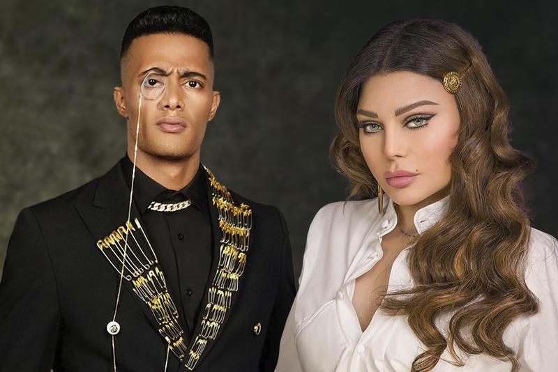 محمد رمضان وهيفاء وهبي يثيران الجدل في الجزائر