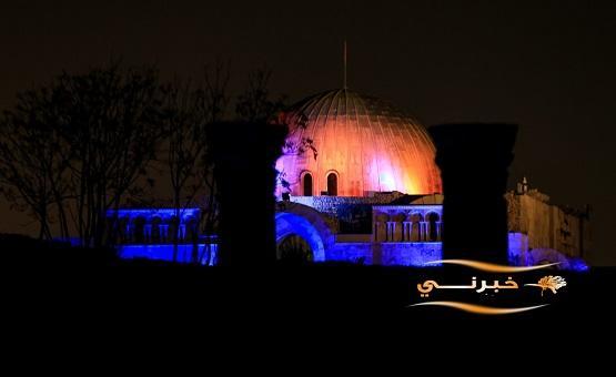 عمان تكتسي بالازرق - صور