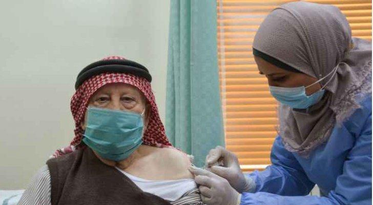 معلومات وأرقام حول التطعيم ضد كورونا في الأردن - انفوجرافيك
