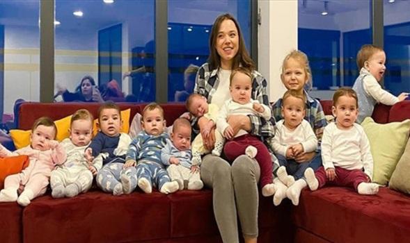 شابة تصبح أمّا لـ 11 طفلا وهي في سنّ 23 عاما