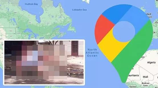 خرائط غوغل تلتقط صورة غير متوقعة لفتاة!