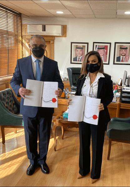 توقيع 3 اتفاقيات بالأردن بقيمة 10 ملايين يورو