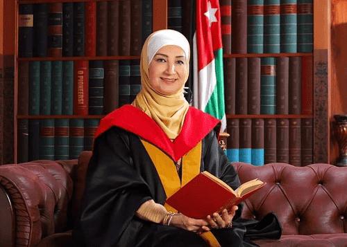 الدكتورة أمل العواودة مبروك درجة الأستاذية