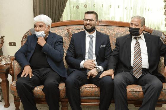مبارك عناد الجراح و وعد صالح المعايطة عقد القران