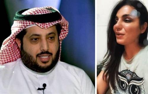 آل الشيخ يتفاعل مع فتاة تغني - فيديو