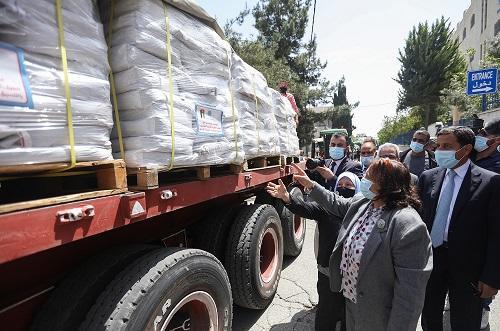 الأردن يرسل مساعدات طبية لفلسطين