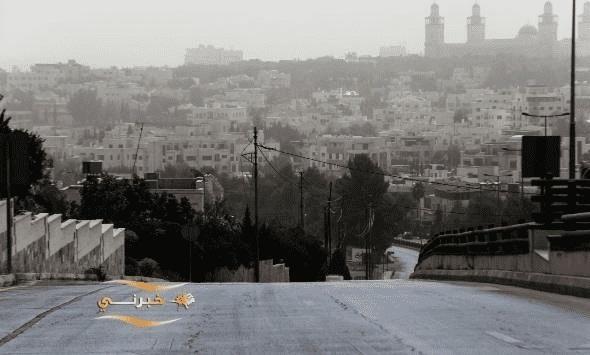 الأمن يدعو للتقليل من الحركة بسبب الغبار