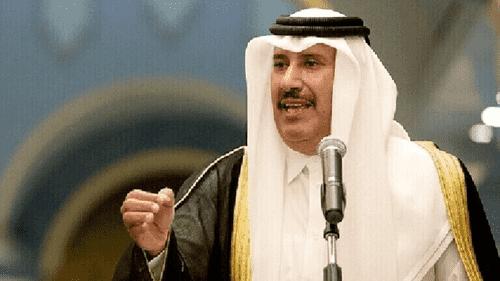 حمد بن جاسم يكشف المتورطين بأحداث الأردن
