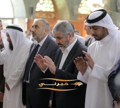 حماس تنتخب مشعل رئيسا لإقليم الخارج