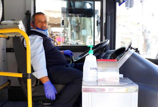 رفع السعة المقعدية لوسائط النقل العام