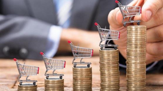 التضخم يرتفع 0.07% في الربع الأول