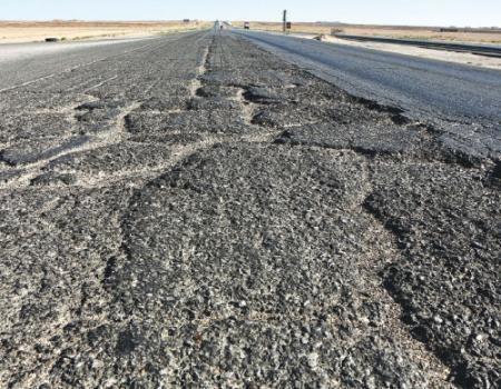 أنباء عن عدد إصابات كبير بحادث على الصحراوي