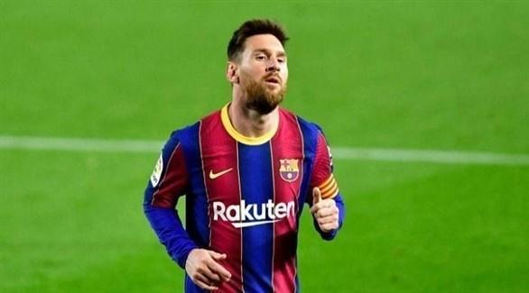 ميسي يهدي قمصان برشلونة لشركة لقاحات صينية
