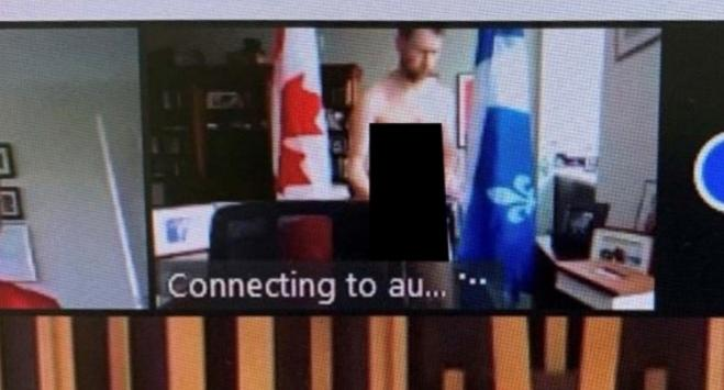 موقع خبرني : نائب كندي يظهر عاريا في اجتماع عبر الإنترنت