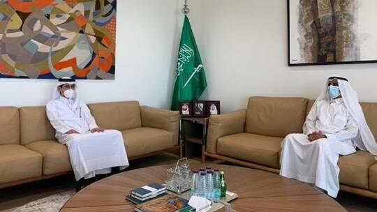 ثاني لقاء سعودي قطري عقب المصالحة