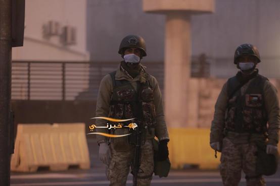 الجيش ينتشر على مداخل ومخارج المحافظات