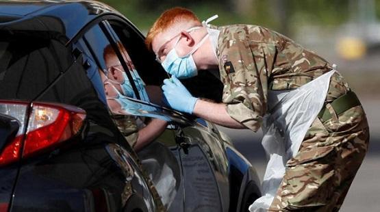 بريطانيا: 2596 إصابة و 34 وفاة بكورونا