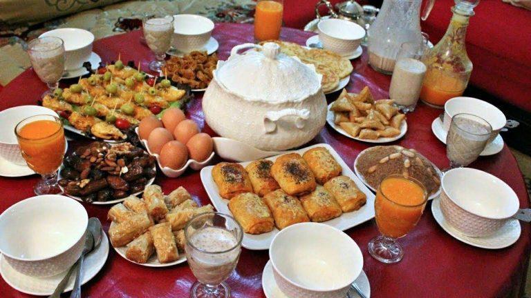 كيفيّة تناول الوجبات خلال رمضان