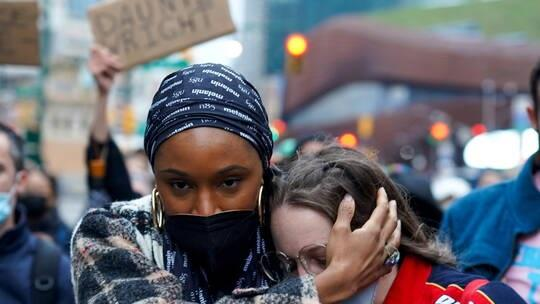 مظاهرات ضد عنف الشرطة الأميركية