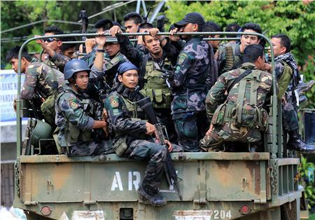 القوات الفلبينية تقتل 3 أشخاص بينهم عربي