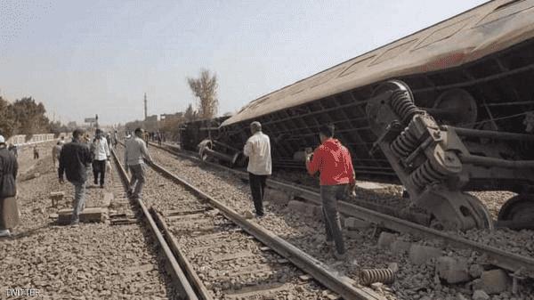 السيسي يأمر بتشكيل لجنة للتحقيق بحادث القطار
