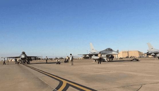 قصف يستهدف قاعدة اميركية بالعراق