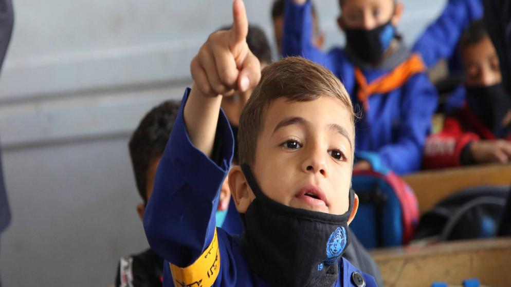 أونروا تطلق منصة تعليمية رقمية لطلاب فلسطين