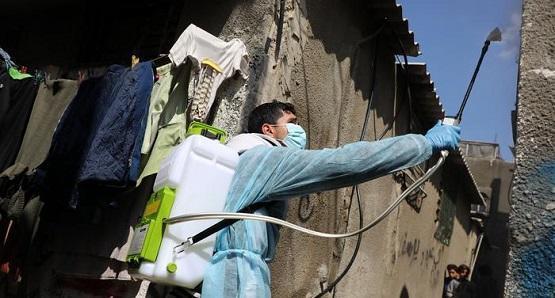 تحذير من ارتفاع إصابات كورونا في غزة