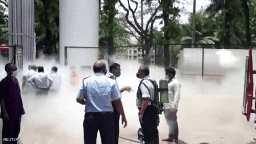 تسرب الأكسجين يقتل 22 مريضا بكورونا بالهند