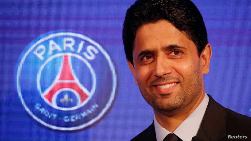 ناصر الخليفي رئيساً لرابطة الأندية الأوروبية
