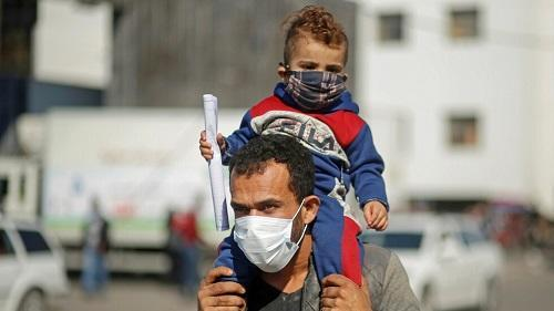 غزة: 11 وفاة و1179 اصابة بكورونا